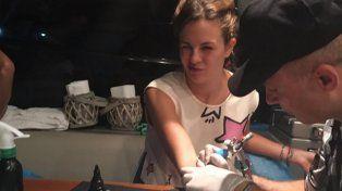 ¿Qué le pasó a Yanina Screpante al realizarse un sofisticado tatuaje?