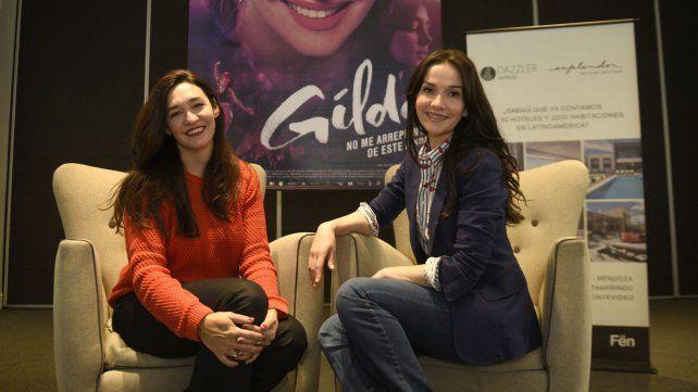 Simpática y elegante, Natalia Oreiro llegó a Rosario y contó la intimidad del rodaje de Gilda