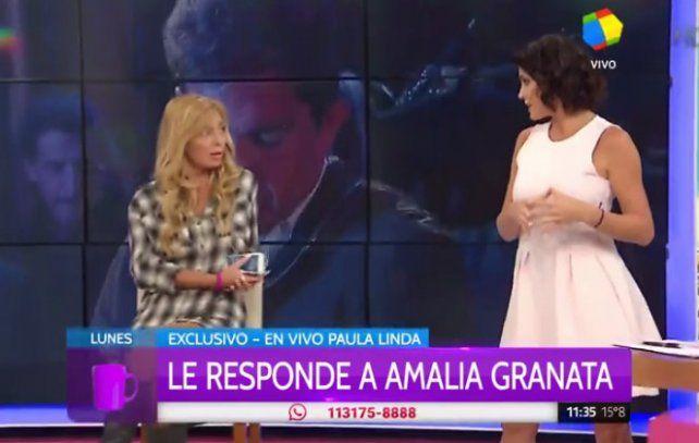 Paula Linda aseguró que a Squarzon lo notó nervioso y obligado en el programa de Susana