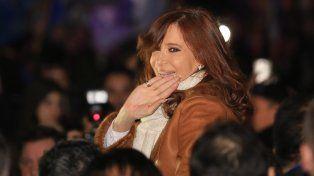 La expresidenta Crisstina Fernández de Kirchner.