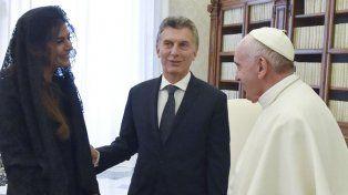 Macri y su esposa