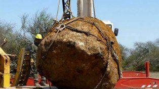 Chaco pasó a tener los dos meteoritos más grandes del mundo detrás del Hoba