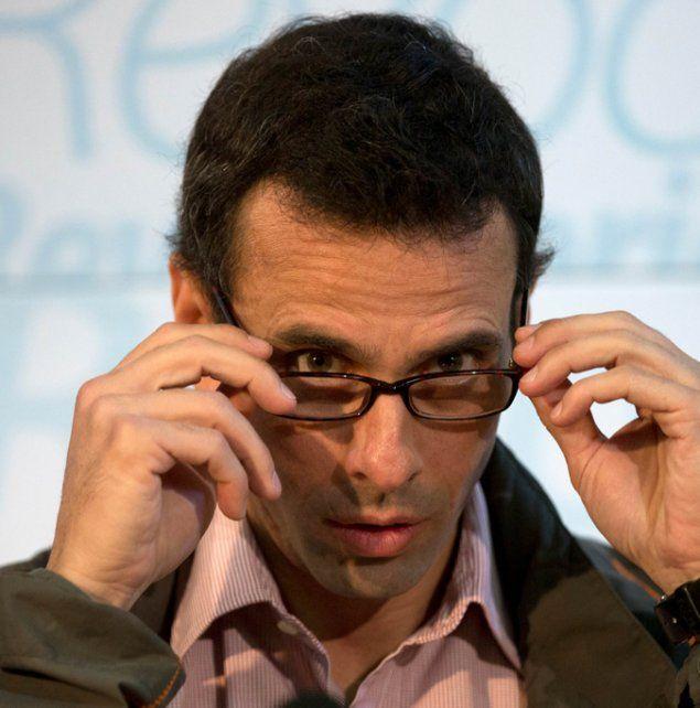 Firme. Capriles es el máximo líder de la oposición e impulsor del revocatorio.
