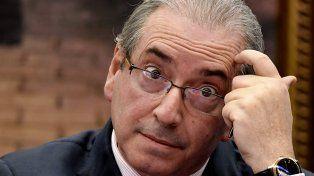 Cunha renunció en julio a la presidencia de la Cámara