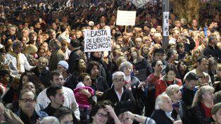 Quiebre. Las masivas marchas exigiendo seguridad y justicia alteraron drásticamente la agenda legislativa.
