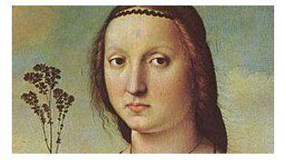 Rafael. Retratp de Maddalena.