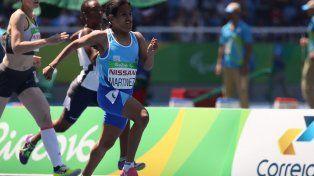 Yanina Martínez es la única campeona paralímpica argentina hasta el momento en estos juegos de Río.