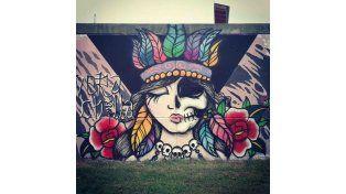 Cuando las paredes transpiran arte