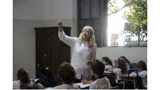 Los profesionales son designados para apoyar la tarea de las maestras. (Silvina Salinas / La Capital)