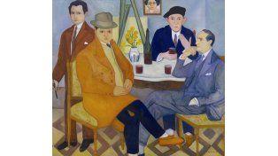 Augusto Schiavoni. A los pintores amigos (1930)