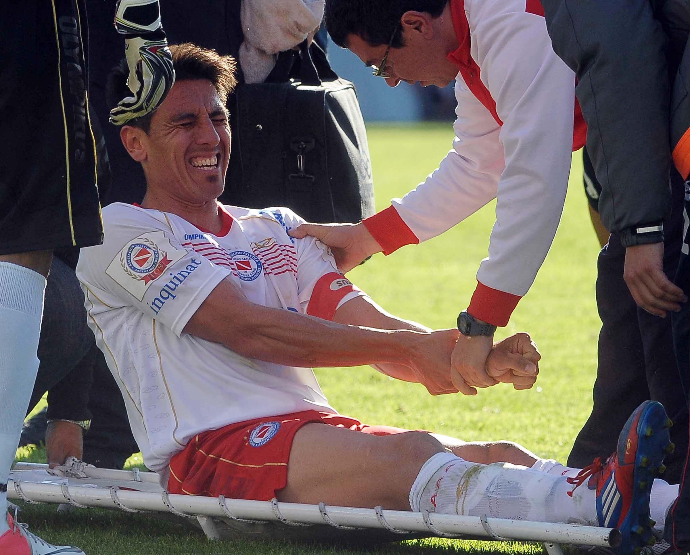 Las lesiones de hombro son frecuentes en las actividades deportivas. (Télam)