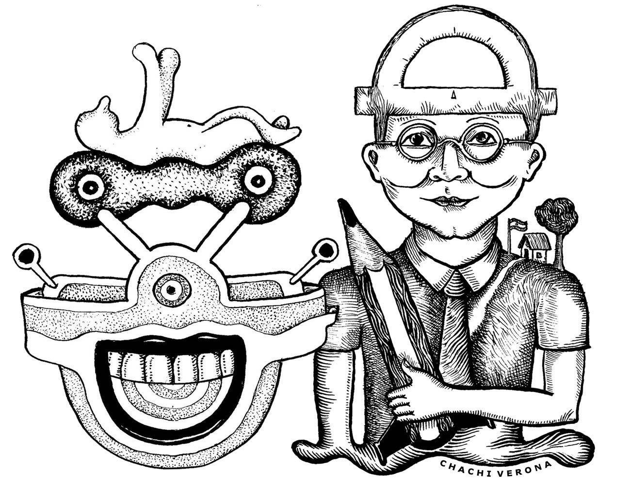 Escuela y mundo del trabajo. (Ilustración Chachi Verona)