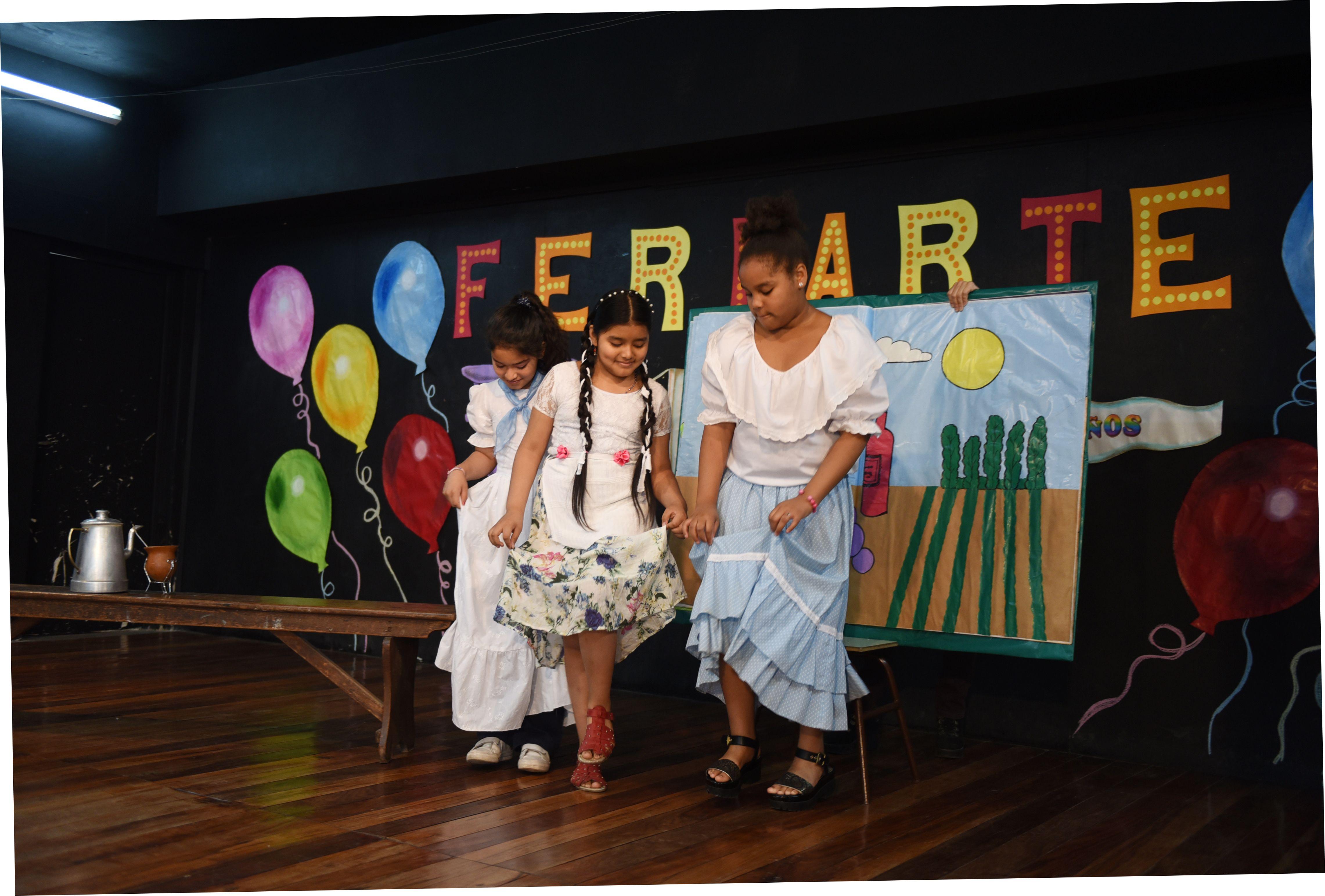 Una jornada donde el protagonismo se lo llevaron los chicos y chicas de la primaria de Moreno al 900.(Celina Mutti Lovera / La Capital)