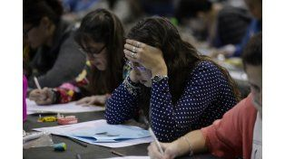 Un 20% de los alumnos consultados dijo haberse enfermado ante un examen.