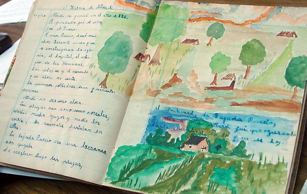 Los cuadernos exhibidos en el Castagnino hablan de la libertad impulsada por las Cossettini