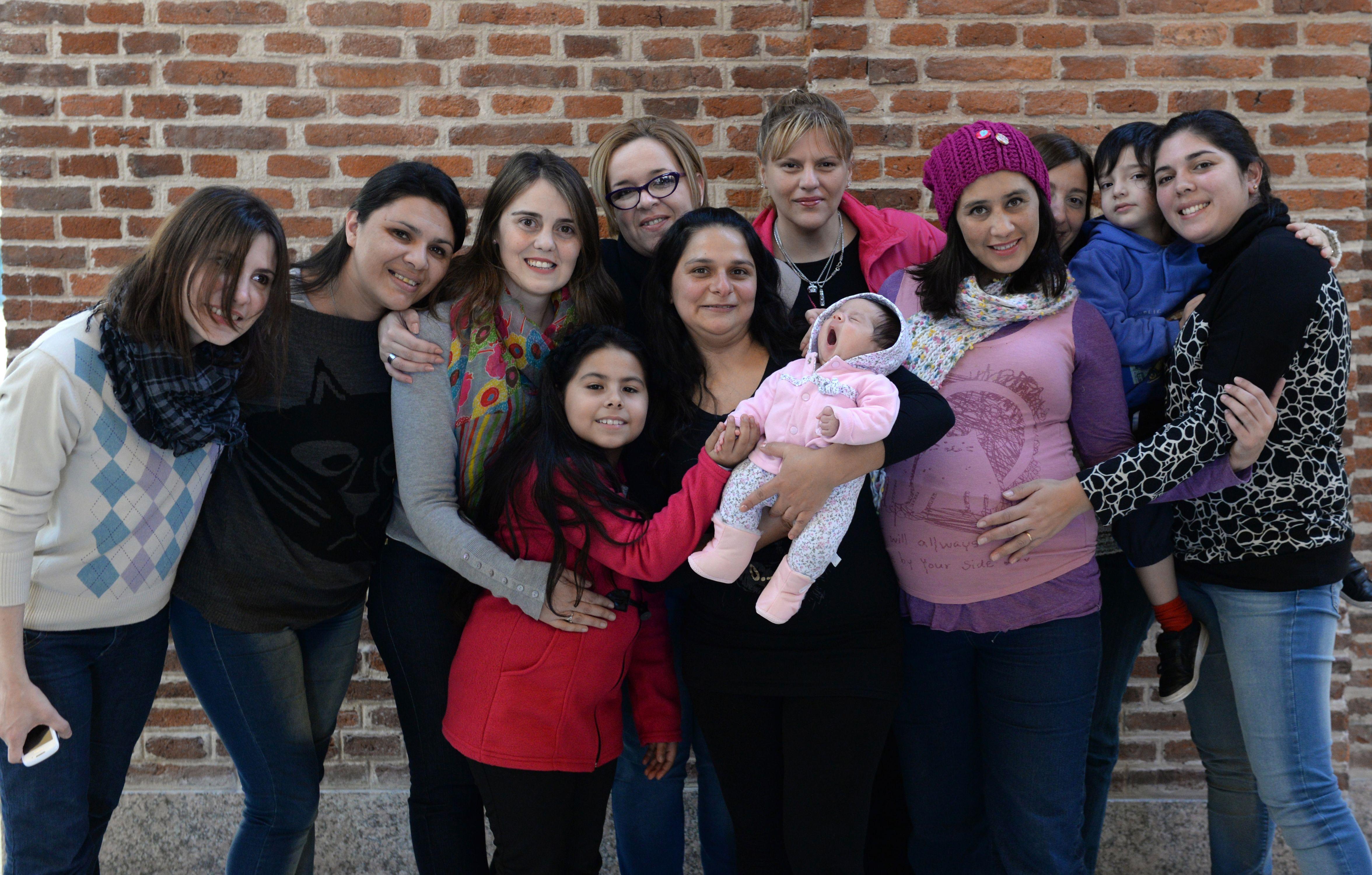 Las integrantes del grupo Trombofilia y Embarazo brindan contención y comparten información con quienes reciben el diagnóstico.