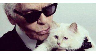 Ella y él. Karl Lagerfeld y Choupette