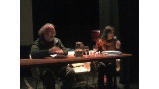 Raúl Fradkin y Marina Caputo