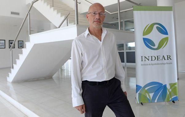 Vanguardia. Martín Vázquez encabeza el grupo de Conicet que trabaja en Indear.