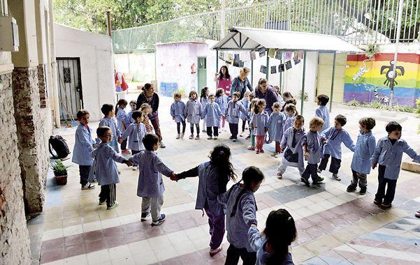 El espacio fue reconstruido entre toda la comunidad educativa y de la mano del Proyecto Anda (www.proyectoanda.com).
