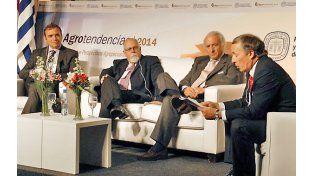 Lo que viene. López y Erize debatieron en el seminario Agroperspectivas.