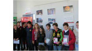 Ganadores del concurso fotográfico. Los primeros premios fueron para alumnos del Colegio Misericordia de Rosario.