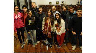 El grupo de alumnos del Politécnico que viajará a Inglaterra el mes que viene