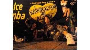 Rosso destaca la convivencia entre generaciones que siguen la música ricotera. (Foto: M. Bustamante)
