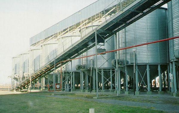 En la región. Las instalaciones de Nidera en Venado Tuerto