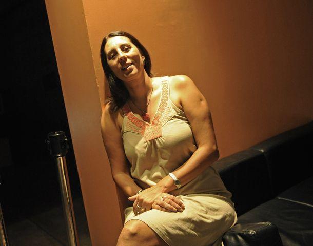 La profesora Sandra Amorelli