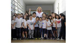 Isabel Zurbriggen es la vicedirectora de la Escuela 610. (Foto: S. Salinas)