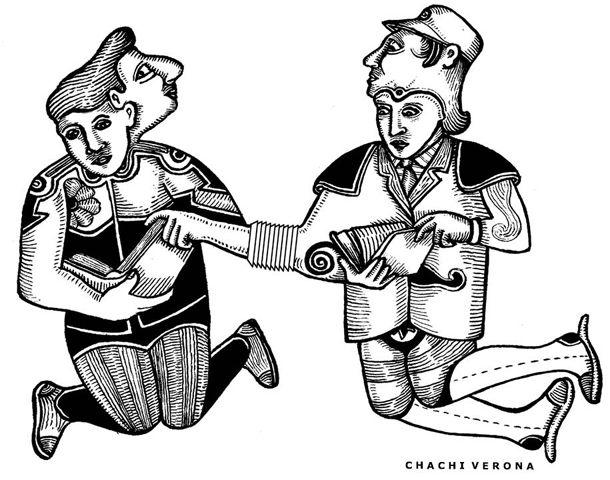 Dibujo: Chachi Verona.
