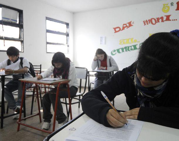 Los exámenes buscan conocer el rendimiento de los alumnos.