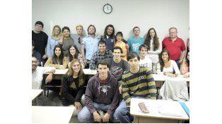 Durante un mes los jóvenes de Perú y EEUU participan de clases en inglés con alumnos locales. (Foto: G. de los Ríos)