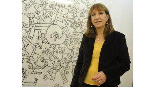 La directora Irene López anticipa que habrá tres jornadas este año para debatir los diseños curriculares del secundario. (Foto: M. Sarlo)
