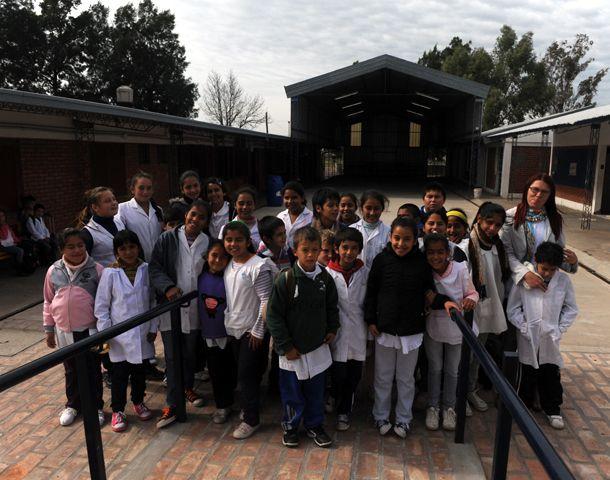 Los alumnos de San Bernardo