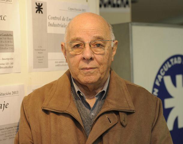 Roberto Caputi: La universidad me enriqueció muchísimo en mi trabajo. (Foto: S. Toriggino)