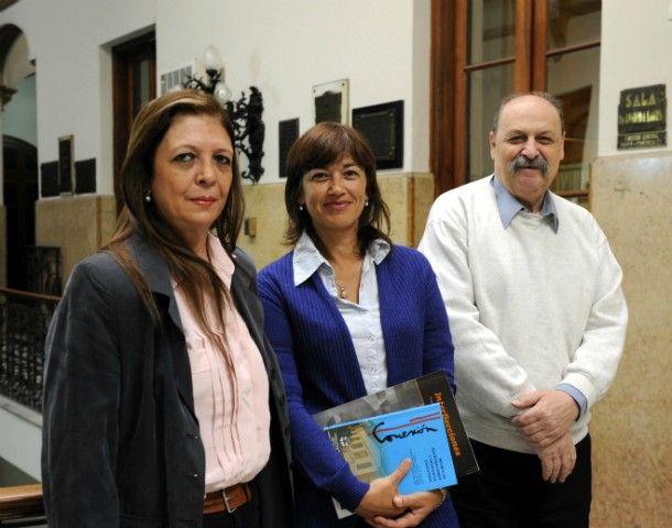 La profesora Lía García