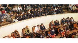 Los alumnos pidieron que se hable más de política en las escuelas y que haya centros de estudiantes. (Foto: S. Toriggino)