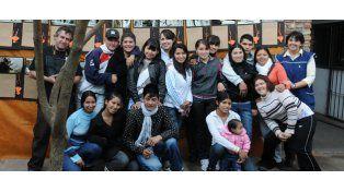 El grupo de estudiantes que fotografió el barrio