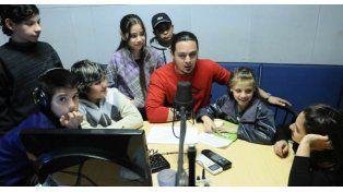 Arrebatados en Banda, los chicos a través del micrófono