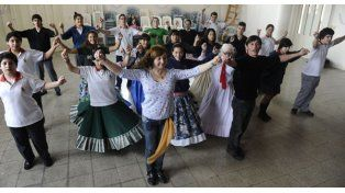 Mazamorra, el taller de folclore protagonizado por adolescentes