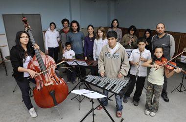 La Orquesta Juvenil de La Tablada pasea su música por el país