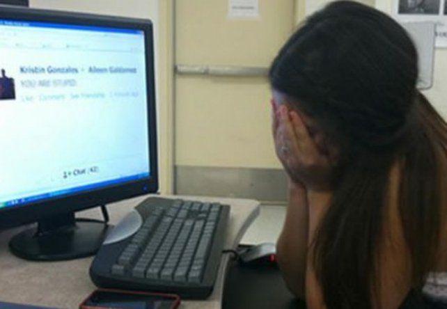 Acoso por la web. El caso de abuso de menores por internet es frecuente. Ahora se dio en la localidad de Los Molinos.