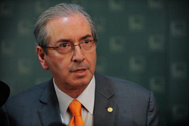 El ex presidente de la Cámara baja fue uno de los arquitectos del impeachment de Rousseff.