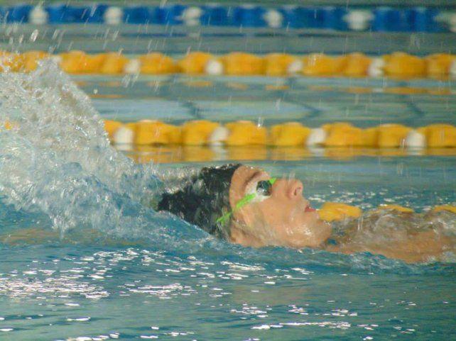 Carlomagno fue sexto lugar en la final de 100 metros espalda S8.