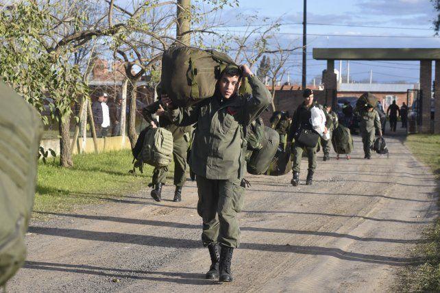 Los gendarmes comenzarán a llegar el unes a la ciudad. (Foto de archivo)