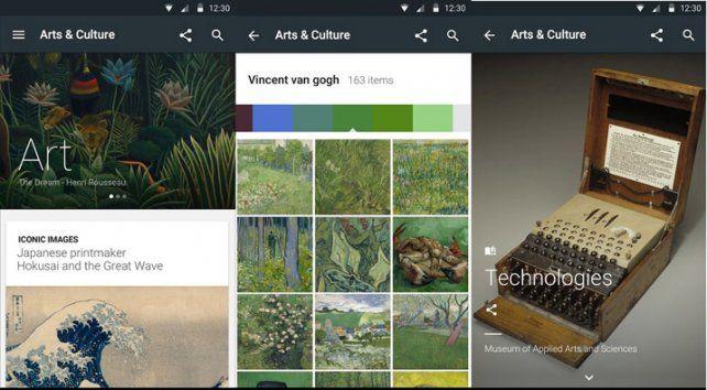 Fascinante. La portada del nuevo sitio que suma aportes de varios museos.
