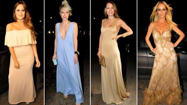 El look de las diosas argentinas que anoche se reunieron en una gala de lujo