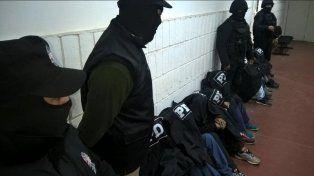 Los detenidos fueron trasladados a dependencias de la PDI.